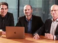 "מייסדי פלאנק (מימין לשמאל: דיוויד שפירו, אמיר כהן, אלעד צור)  / צילום: יח""צ"