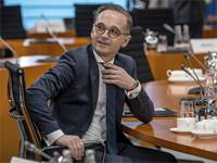 שר החוץ הגרמני הייקו מאס / צילום: Michael Kappeler/DPA, AP