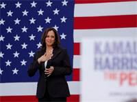 קאמלה האריס, השבוע. עוד יכולה להפוך לנשיאה יום אחד צילום:רויטרס, Mike Blake