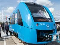 רכבת המימן של אלסטום בגרמניה / צילום: Serene Stache, AP