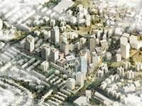 המרכז המתחדש של לוד / הדמיה: דרמן ורבקל אדריכלים