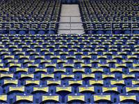 מושבים ריקים במשחק החזרה של פורטו לאחר התפרצות הקורונה / צילום: Jose Coelho, Associated Press