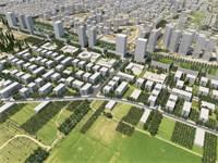 הדמית הפרויקט במזרח רחובות / הדמיה: מנדי ארנסט אדריכלים ודירה להשכיר