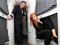 מיטת קומותיים במטוס / צילום: שאטרסטוק
