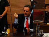 """שר האוצר ישראל כ""""ץ בוועדת הכספים / צילום: עדינה ולמן, דוברות הכנסת"""