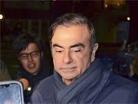 קרלוס גוהן מגיע לביתו בטוקיו / צילום: Shunpei Takeuchi, רויטרס