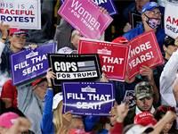 עצרת בחירות של טראמפ בפנסליבניה / צילום: Keith Srakocic, Associated Press