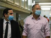 דניאל בירנבוים ועורך דינו בבית המשפט / צילום: שלומי יוסף, גלובס