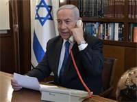 """ראש הממשלה בשיחת טלפון עם נשיא ארה""""ב ועם יורש העצר של איחוד האמירויות / צילום: קובי גדעון, לע""""מ"""