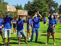הנוער העובד והלומד - מחאת תנועות הנוער / צילום: הנוער העובד והלומד