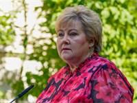 ראשת ממשלת נורבגיה, ארנה סולברג / צילום: רויטרס