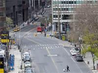 רחובות ניו יורק ריקים מתנועה / צילום: Mary Altaffer, AP