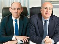 """משה ברקת, יו""""ר רשות שוק ההון, ואמיר ירון, נגיד בנק ישראל / צילום: רפי קוץ, גלובס"""