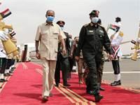 """יו""""ר מועצת המעבר הצבאית בסודאן עבד אל-פתאח עבד א-רחמן אל-בורהאן / צילום: Marwan Ali, AP"""