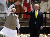 טראמפ ומודי / צילום: Aijaz Rahi, AP