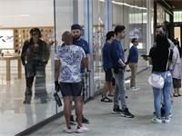 סניף של חנות אפל במיאמי / צילום: Lynne Sladky, AP