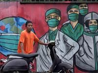 גרפיטי באינדונזיה / צילום: דיטה אלאנגקרה, AP