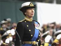 הנסיכה אן במדי חיל הנחתים / צילום: Chris Jackson, AP