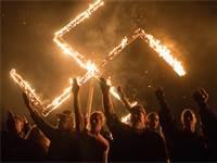"""הפגנה של פעילים לאומניים במדינת ג'ורגיה שבארה""""ב / צילום: רויטרס"""