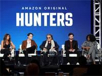 """שחקני הסדרה """"ציידים"""" (אל פאצ'ינו במרכז) / צילום: Willy Sanjuan, AP"""