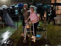 מצביעים מבוגרים בפלורידה מחכים להיכנס להצבעה מוקדמת בבחירות 2020 / צילום: Lynne Sladky, Associated Press