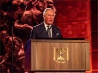 הנסיך צ׳רלס בפורום השואה הבינלאומי ינואר 2020 / צילום: בן קלמר, שגרירות בריטניה בישראל