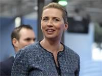 מטה פרדריקסן, ראשת ממשלת דנמרק / צילום: Ludovic Marin, AP