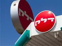 שילוט בתחנת דלק של דלק ישראל / צילום: שלומי יוסף, גלובס