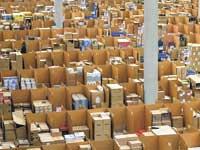 מחסן לוגיסטי של אמזון בגרמניה./ צילום:  Martin Meissner:  AP