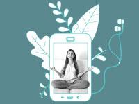אפליקציות ה־Wellness / צילום ואיור: Shutterstock | א.ס.א.פ קריאייטיב
