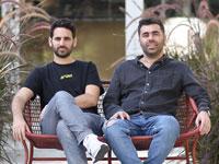 """ארטליסט. היזמים איציק אלבז (מימין) ועירא בלסקי. """"רק התחלנו לגרד את הפוטנציאל"""" / צילום: מתן פורטנוי"""