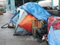 הומלס ברחובות סן פרנסיסקו./צילום: רויטרס, Beck Diefenbach