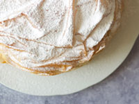 עוגת גבינה חמה בעלי פילו / צילום: קרן אגם