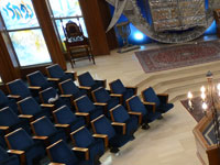 """בית הכנסת """"היכל מרדכי"""" שבהרצליה פיתוח / צילום: איל יצהר"""