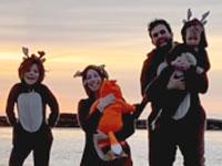 איתי כהן שדה ומשפחתו / צילום: פרטי