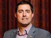 """פרנק לארוז, מזכיר המדינה של מדינת אוהיו בארה""""ב /  צילום: שלומי יוסף"""