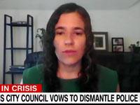 צילום מסך מתוך הטוויטר של ליסה בנדר - שידור CNN