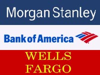 בנק אוף אמריקה, מורגן סטנלי ווולס פארגו