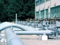 צינורות גז חוות גז