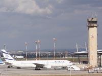 מגדל הפיקוח בנתבג מגדל פיקוח שדה תעופה בן גוריון / צלם: תמר מצפי