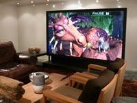לאונג' - מערכת קולנוע ביתית
