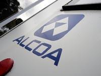 ALCOA  החברה היא יצרנית של אלומניום אלקואה / צלם: בלומברג