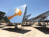 מתקנים תרמו-סולריים בערבה, אנרגיה חלופית, איכות סביבה / צלם בלומברג