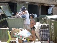 רעב עוני אשפה עניים פסולת / צלם אבי שאולי