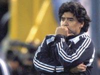 דייגו ארמאנדו מראדונה, נבחרת ארגנטינה, כדורגל / צלם רויטרס