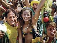 חוגגים את אירוח האולימפיאדה, ברזיל / צלם רויטרס