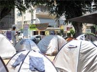 מאהל המחאה בשדרות רוטשילד / צלם בן יוסטר