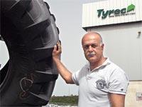 """אמל אסעד, תא""""ל במילואים, שותף ומנכ""""ל """"טיירק"""", מפעל למחזור צמיגים / צלם פרטי"""