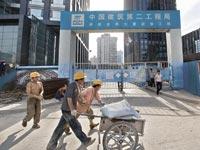 אתר בנייה, סין / צלם בלומברג