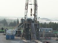 גבעות מגד 5 נפט קידוח / צלם: גלוב טי. וי